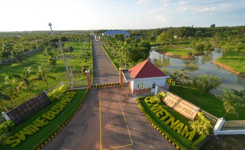 Trang trại heo Lộc Phát của C.P. Việt Nam tại Bình Phước được đánh giá hiện đại nhất Đông Nam á